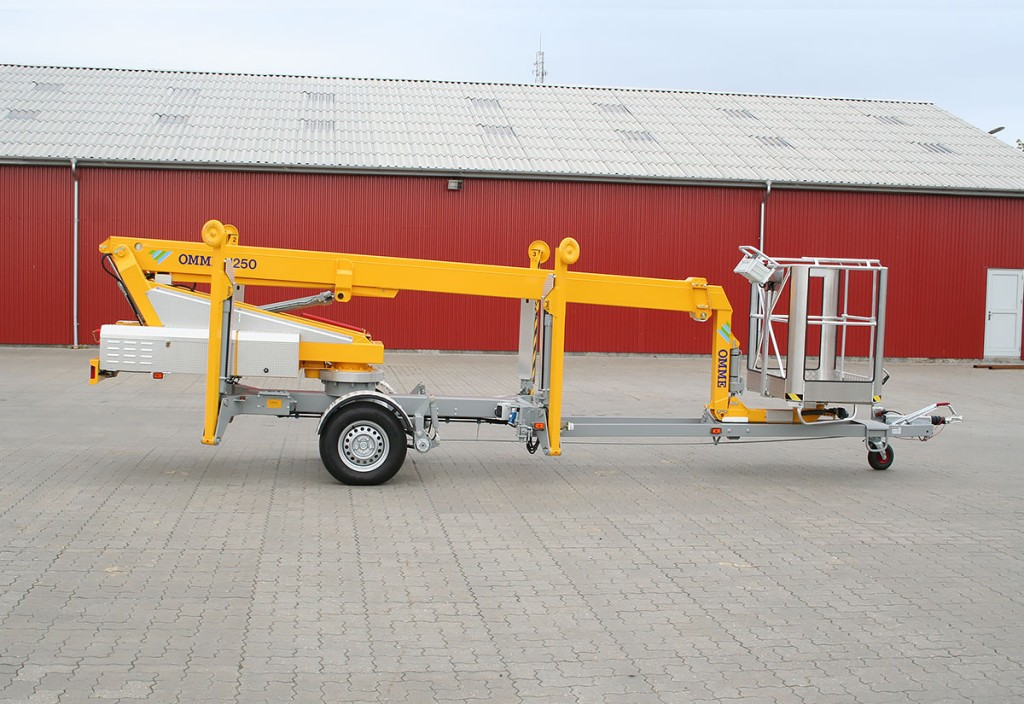 12 mtr. trailerlift – Omme 1250