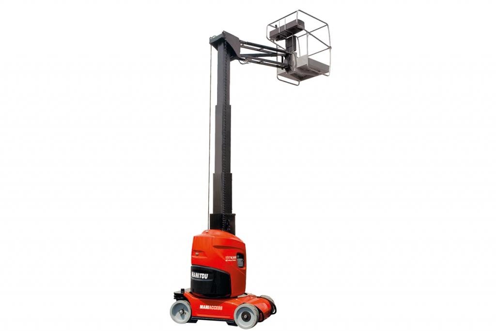 Dieseldrevet sakselift - Upright X27RT | Do-Ma A/S