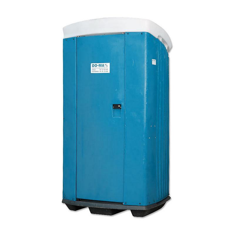 Toiletkabine med tank – enkelt