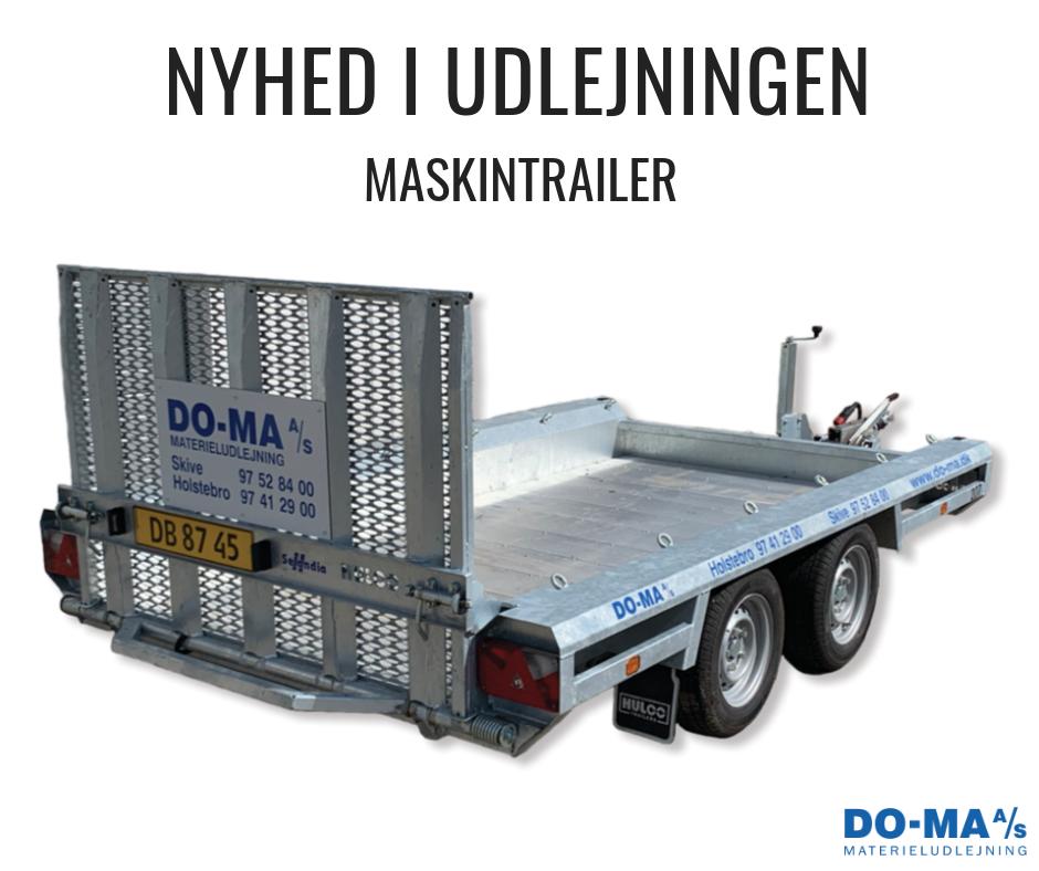 Maskintrailer NYHED